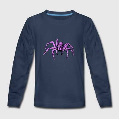 pink giant spider - Kids' Premium Long Sleeve T-Shirt