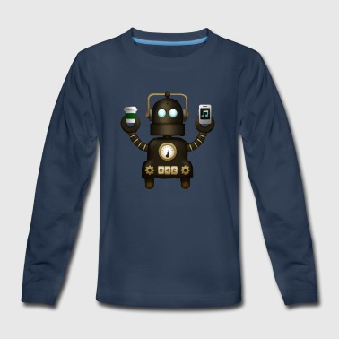 Robot - Kids' Premium Long Sleeve T-Shirt