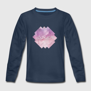 Zurich - Kids' Premium Long Sleeve T-Shirt