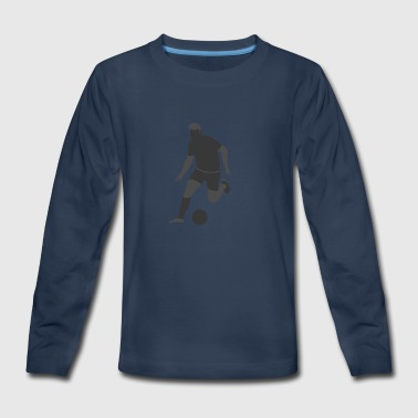 Soccer Player - Kids' Premium Long Sleeve T-Shirt