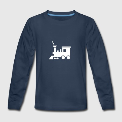 Steam Train - Kids' Premium Long Sleeve T-Shirt