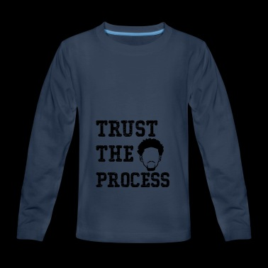 Trust The Process shirt - Kids' Premium Long Sleeve T-Shirt