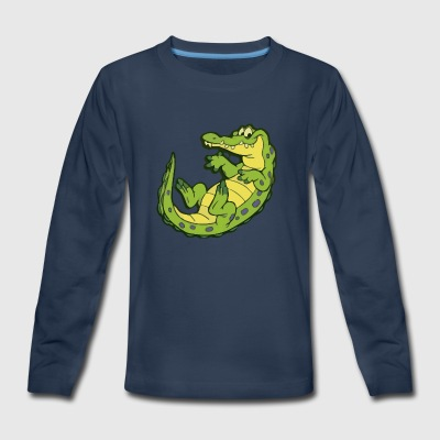 Crocodile - Kids' Premium Long Sleeve T-Shirt