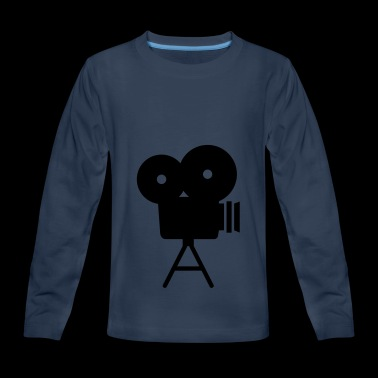 movie camera - Kids' Premium Long Sleeve T-Shirt