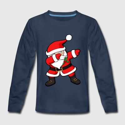 Dabbing Santa Claus Christmas Dab - Kids' Premium Long Sleeve T-Shirt
