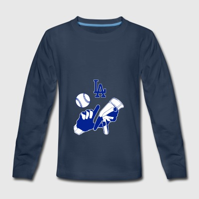 LA Dodgers - Kids' Premium Long Sleeve T-Shirt