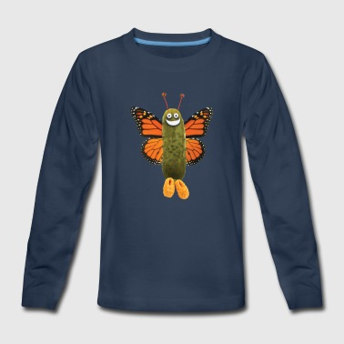 Butterfly Pickle - Kids' Premium Long Sleeve T-Shirt