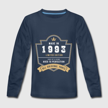 Made In 1993 Limited Edition All Original Parts - Kids' Premium Long Sleeve T-Shirt