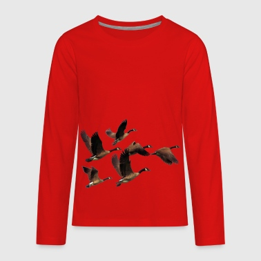 goose - Kids' Premium Long Sleeve T-Shirt