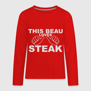 Steak Steak - Kids' Premium Long Sleeve T-Shirt