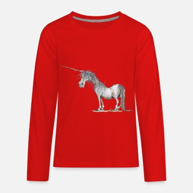 The Last Unicorn Last Unicorn - Kids' Premium Long Sleeve T-Shirt
