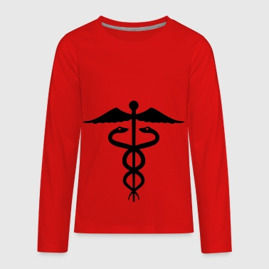 caduceus - Kids' Premium Long Sleeve T-Shirt