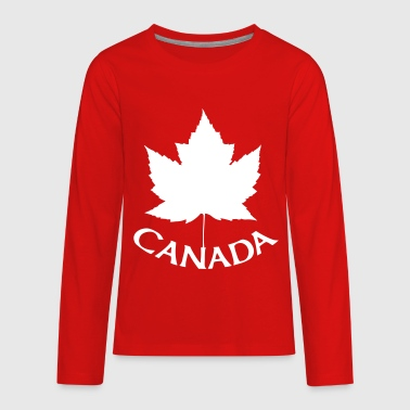 Canada Souvenir - Kids' Premium Long Sleeve T-Shirt
