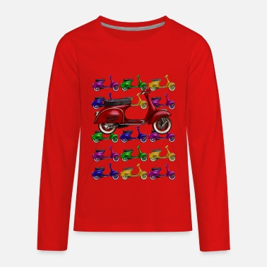 Scooter Scooter - Kids' Premium Long Sleeve T-Shirt