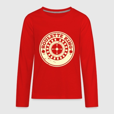 Roulette Casino Roulette King - Kids' Premium Long Sleeve T-Shirt