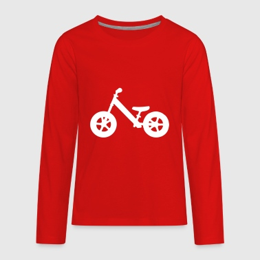 Balance Bike - Kids' Premium Long Sleeve T-Shirt