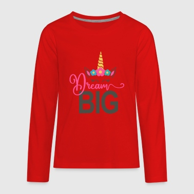 Unicorn Dreams - Kids' Premium Long Sleeve T-Shirt