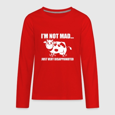 Im Not Mad Just Disapointed - Kids' Premium Long Sleeve T-Shirt