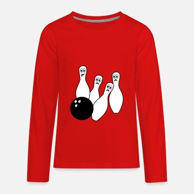 Bowling Bowling - Kids' Premium Long Sleeve T-Shirt