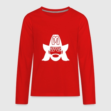 Macho Macho - Kids' Premium Long Sleeve T-Shirt