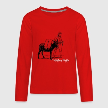 The Prospector - Kids' Premium Long Sleeve T-Shirt
