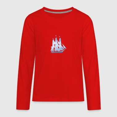 sailing ship - Kids' Premium Long Sleeve T-Shirt