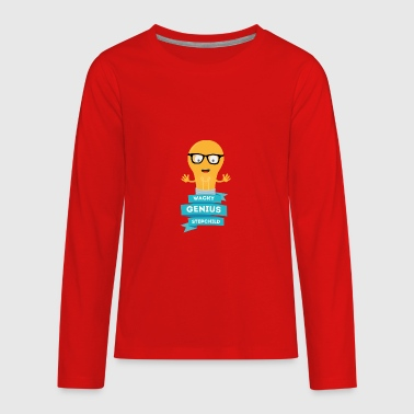 wacky Genius stepchild - Kids' Premium Long Sleeve T-Shirt