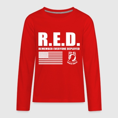 Red Friday Wear Red On Friday - Kids' Premium Long Sleeve T-Shirt