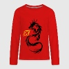 Dragon Flames - Kids' Premium Long Sleeve T-Shirt