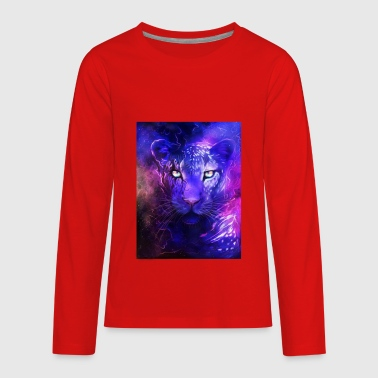 glowing leopard - Kids' Premium Long Sleeve T-Shirt