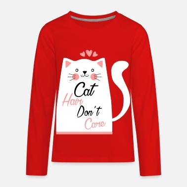 Hairy Hairy Cat - Kids' Premium Longsleeve Shirt