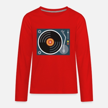 Turntablism Turntable - Kids' Premium Longsleeve Shirt