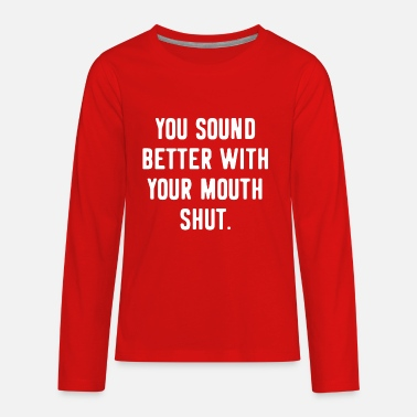 Provocation Provocative Offensive Funny - Kids' Premium Longsleeve Shirt