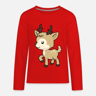 Ruminants Little Baby Deer - Kids' Premium Longsleeve Shirt
