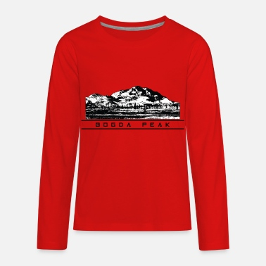 Highest Peak Bogda Peak - Kids' Premium Longsleeve Shirt