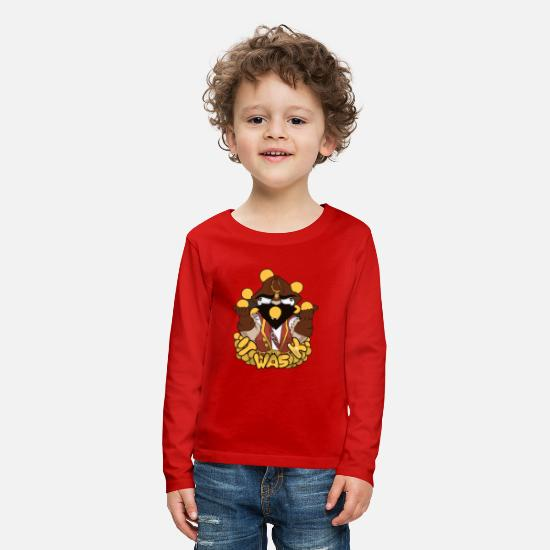 Ball T-Shirts - Ball attractions - Kids' Premium Longsleeve Shirt red