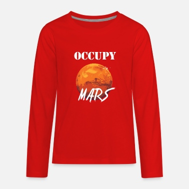 Occupy Occupy mars colony - Kids' Premium Longsleeve Shirt