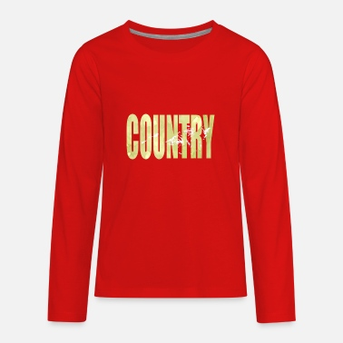 Country Life Country Life - Kids' Premium Longsleeve Shirt