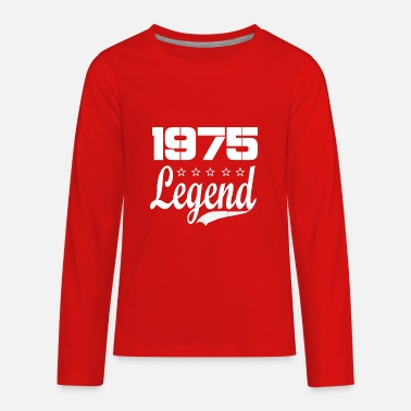 75 Legend - Kids' Premium Longsleeve Shirt
