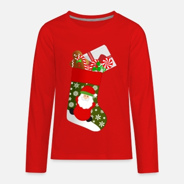 Christmas stocking - Kids' Premium Longsleeve Shirt