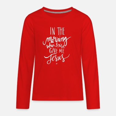 Morning In The Morning - Kids' Premium Longsleeve Shirt