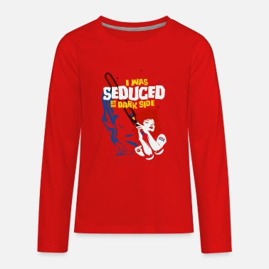 Seduce Seduced by the Dark Side - Kids' Premium Longsleeve Shirt