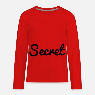 Secret secret - Kids' Premium Longsleeve Shirt