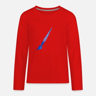 Paint Brush paint brush - Kids' Premium Longsleeve Shirt