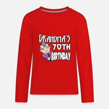 Happy Birthday Grandma Grandmas 70 To Gift