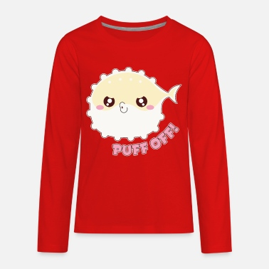 Puff Off - Kids' Premium Longsleeve Shirt