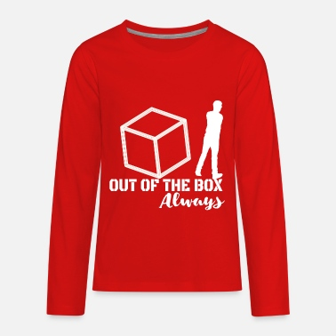 Corporate Life Out of the Box - Always! - Kids' Premium Longsleeve Shirt