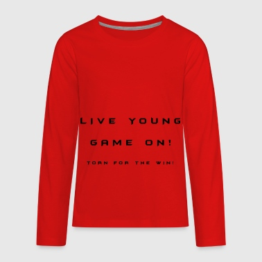 Slogan - Kids' Premium Long Sleeve T-Shirt