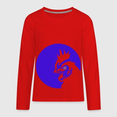 rooster - Kids' Premium Long Sleeve T-Shirt