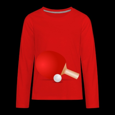 ping pong - Kids' Premium Long Sleeve T-Shirt